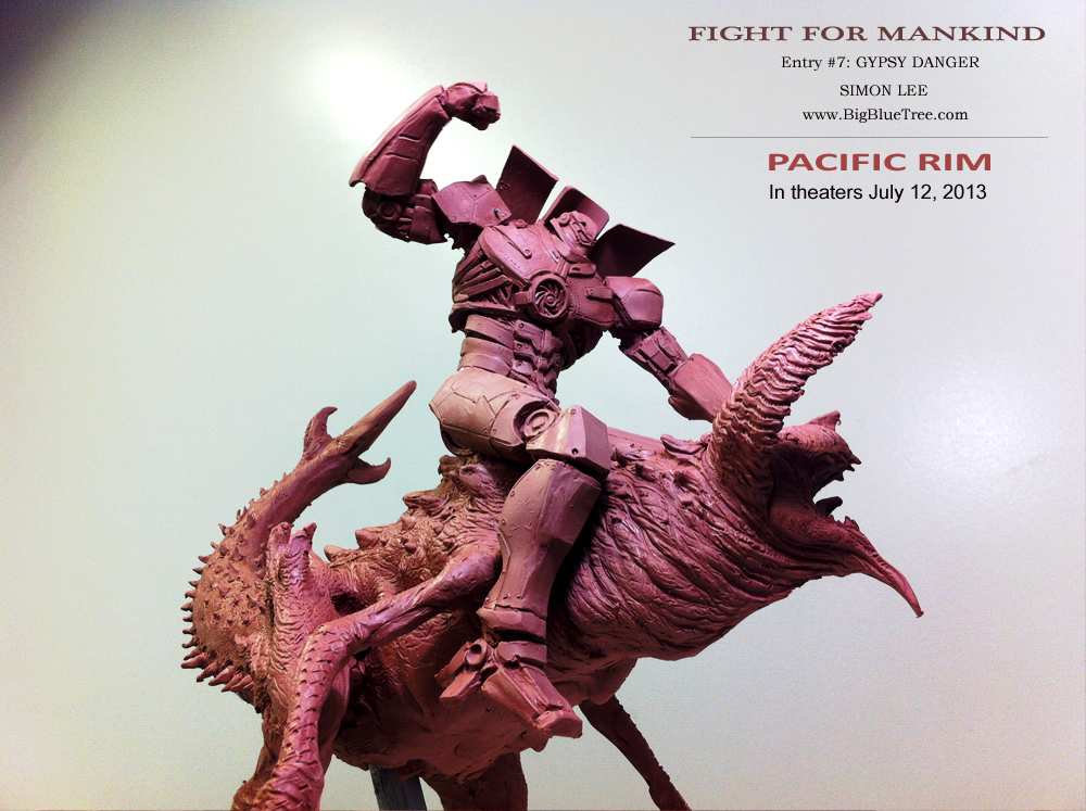 simon lee spiderzero sculptor pacific rim kaiju creature