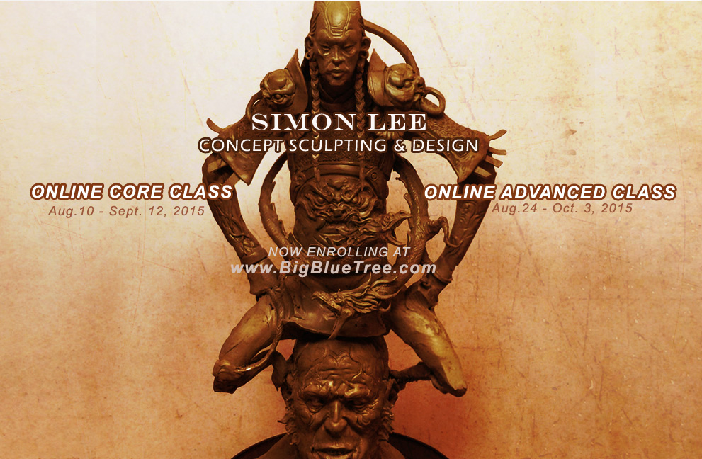 Simon Lee Spiderzero Art of Simon Lee Sculpures Summer 2015 Classes