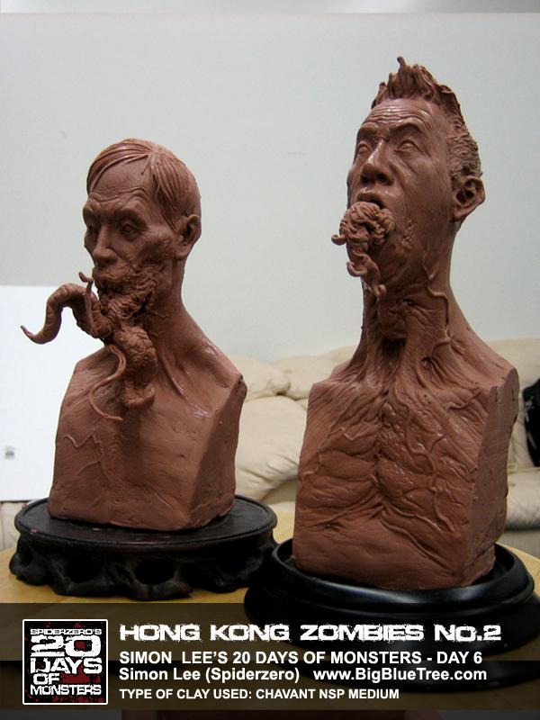 Simon Lee Spiderzero Sculptor Pacific Rim Kaiju Creature Designer Concept Artist Bigbluetree