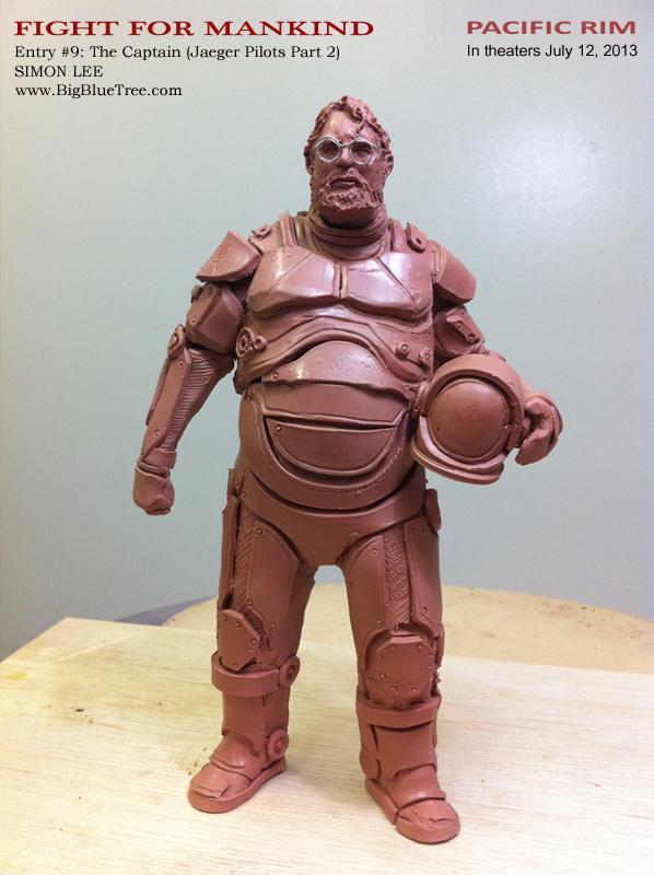 Simon Lee Spiderzero Sculptor Pacific Rim Kaiju Creature ... Pacific Rim Concept Art Pilot