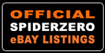 Official Spiderzero eBay Listings - Bid with confidence!