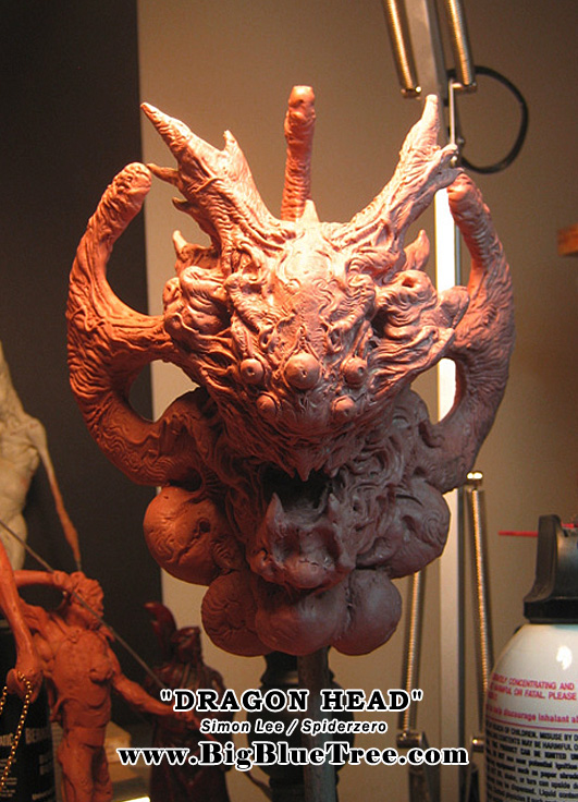 Spiderzero Dragon Head