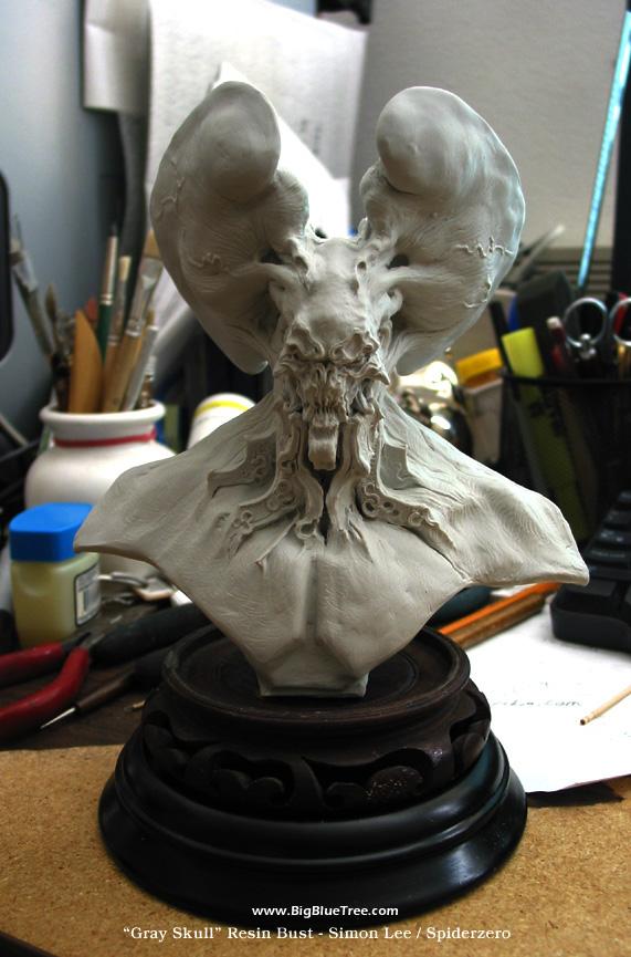 Gray Skull - Spiderzero